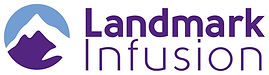 Landmark Infusion Logo (9 in wide) w bor