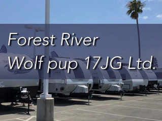 Forest River Wolf PUP 17JG LIMITED 2022