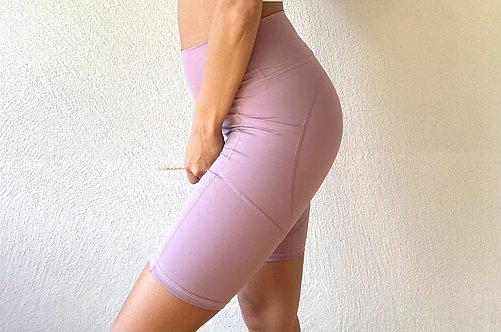 ポケットディテールショートパンツ-Purple