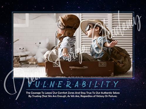 Vulnerability Motivational Poster (Galaxy)