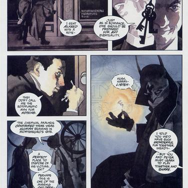 BATMAN/HOUDINI PAGE