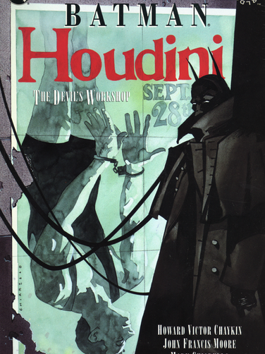 BATMAN/HOUDINI: THE DEVIL'S WORKSHOP