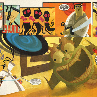 SAMURAI JACK PAGES 7&8