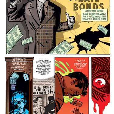 ORIGIN OF TWO-FACE PAGE 1