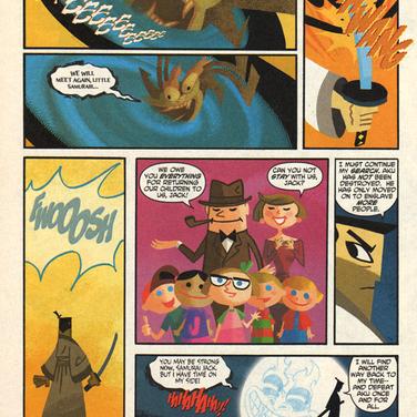 SAMURAI JACK PAGE 9