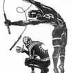 SPIDEY & DD PIN-UP