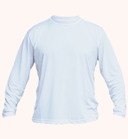Solar long sleeve arctic blue
