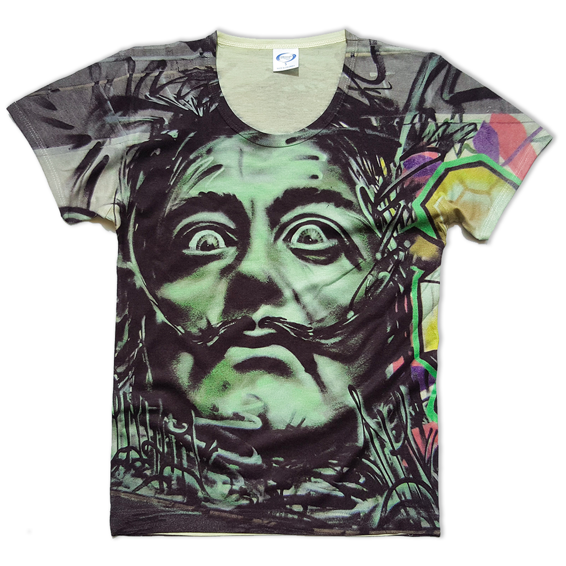 Dali all over printed Vapor t-shirt