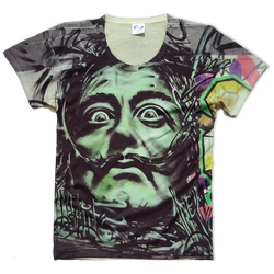 Dali all over printed Vapor t-shirt