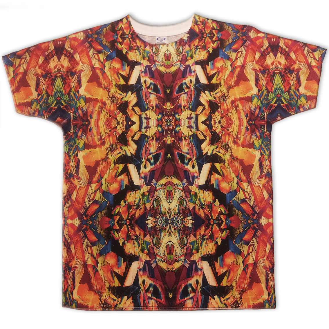All-over printed t-shirt koleidoscope