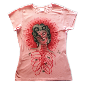 digitally printed Vapor t-shirt