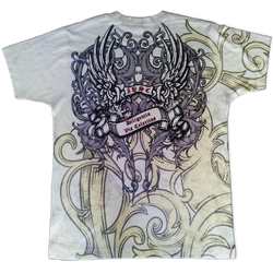 All-over printed club t-shirt