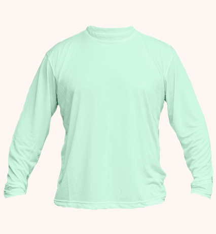 Solar long sleeve seegrass