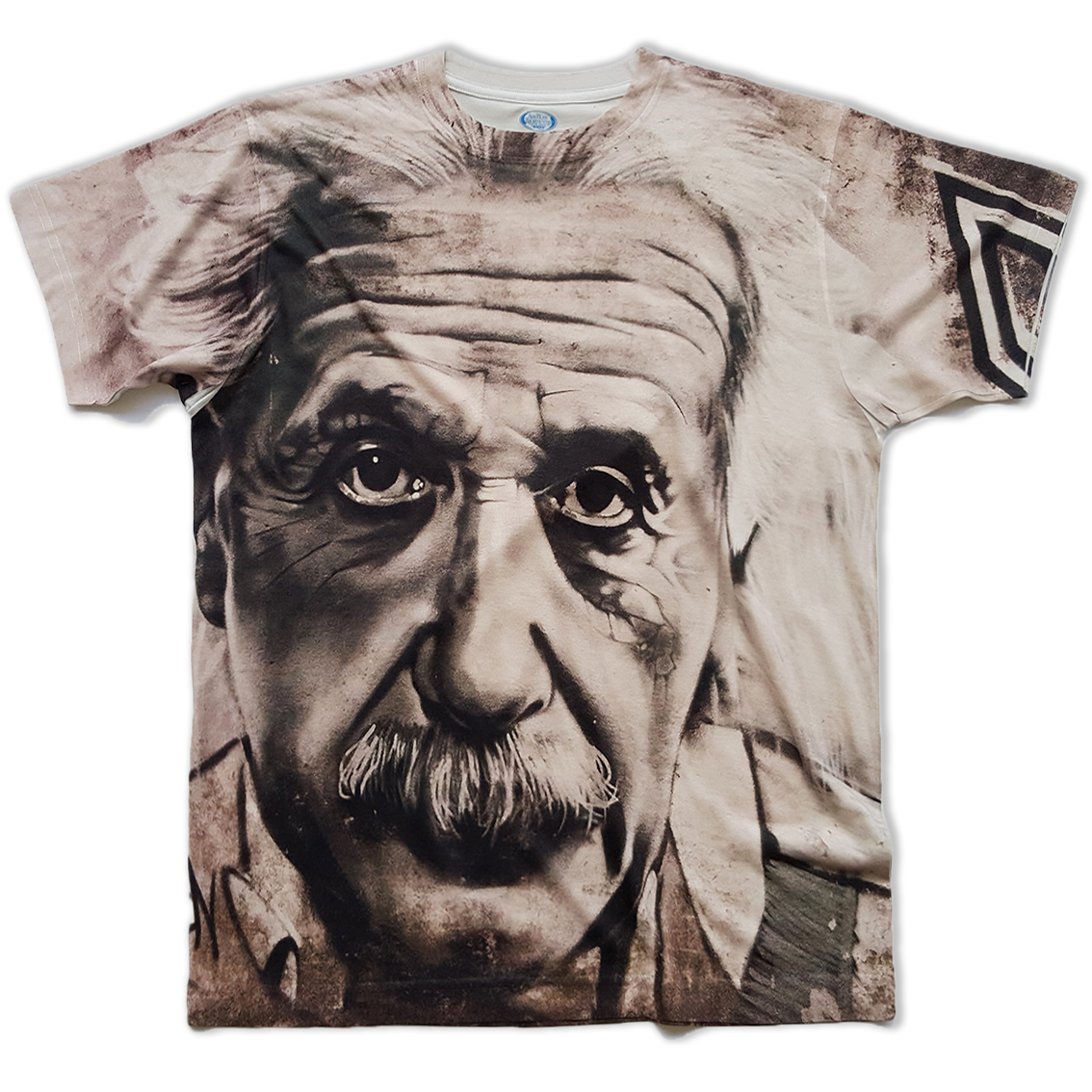 Einstein all over printed t-shirt