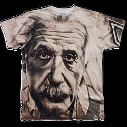 Einstein all over printed t-shirt