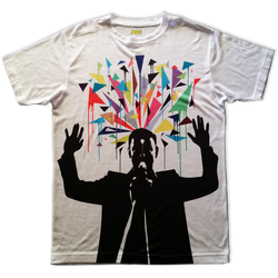 Vapor basic t-shirt, oversized print