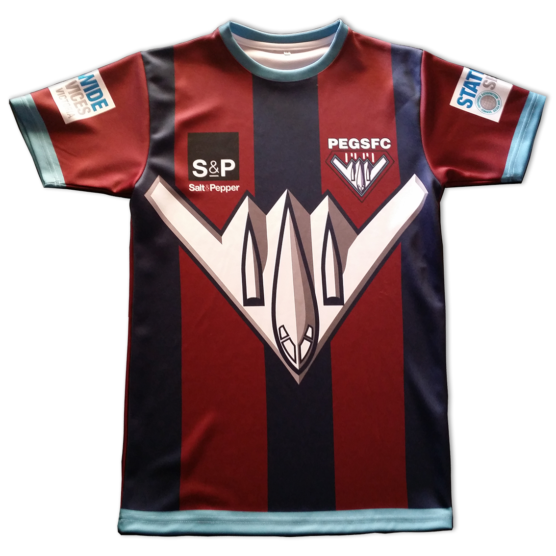 custom made soccer uniform