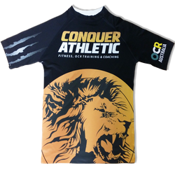 All-over printed compression shirt