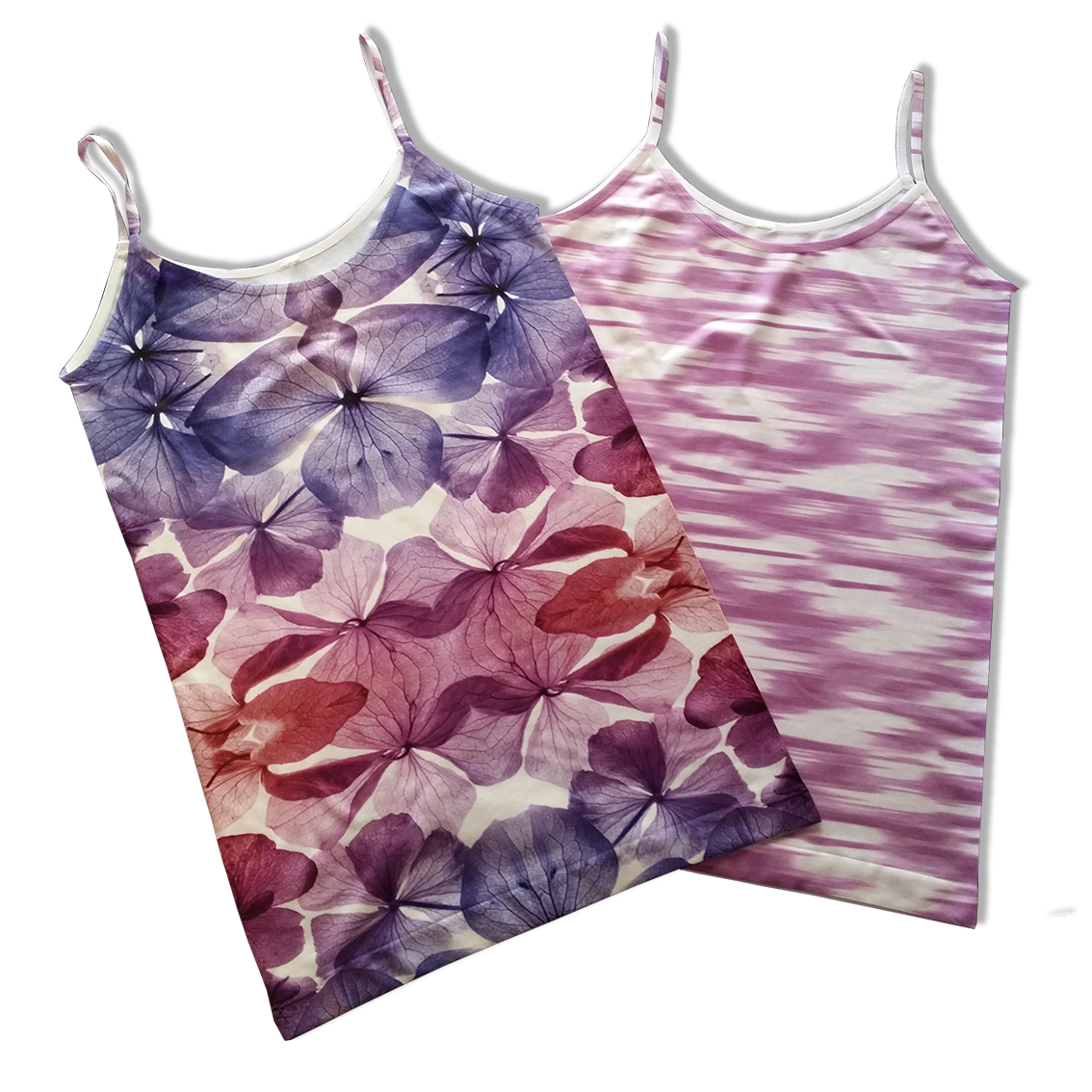 All-over printed ready-made singlets