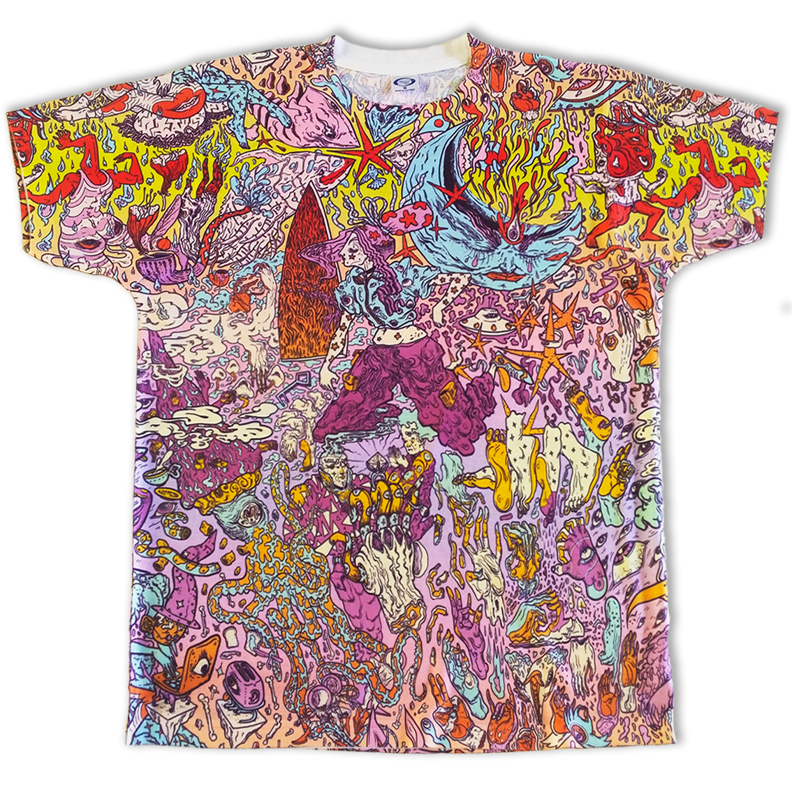 All-over printed t-shirt Goolife