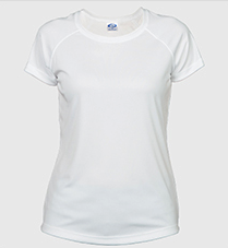 solar ladies t-shirt white