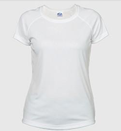 solar ladies t-shirt white