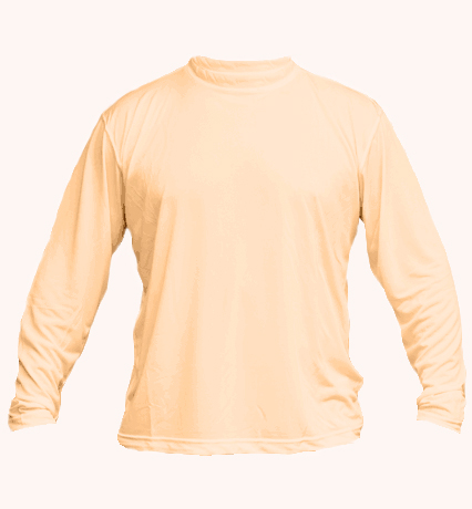 Solar long sleeve tan