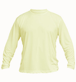 solar long sleeve pale yellow