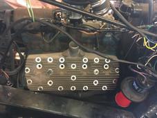 GEM cylinder head on an engine