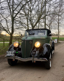 Green 1936 Coupe