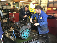 Engine Restoation in the Workshop