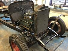 Vintage Hotrod Car
