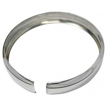 "Spare Tire Band - Polished Stainless Steel - 21"" A1395E"
