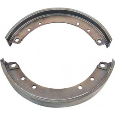 Brake Shoe Set - New With Molded Linings - 4 Pieces - Front & Rear A2021