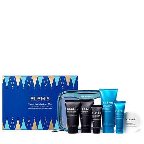Travel Essentials for Him Gift Set