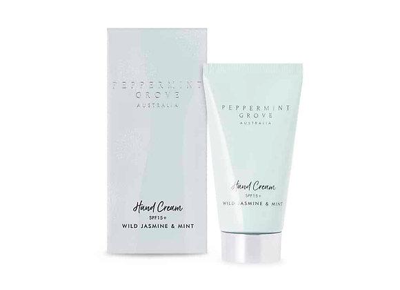 Wild Jasmine & Mint Hand Cream Tube