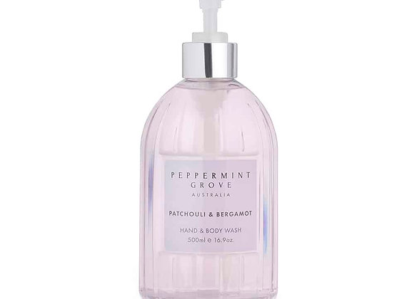 Patchouli & Bergamot Hand & Body Wash