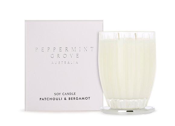 Patchouli & Bergamot Medium Candle