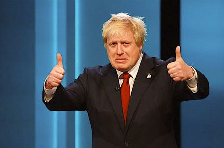 "Boris says ""Noo"" pamper package!"
