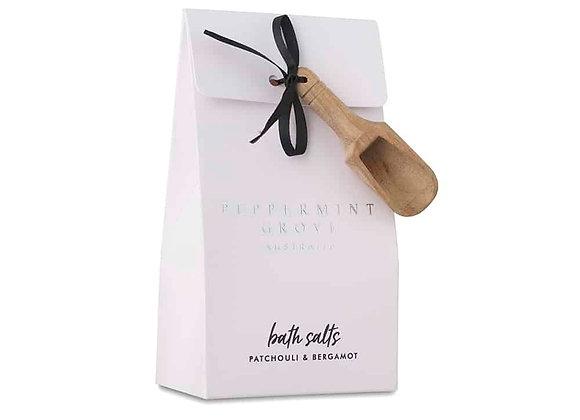 Patchouli & Bergamot Bath Salts