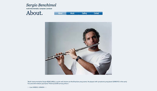 Sergio Benchimol Official's homepage