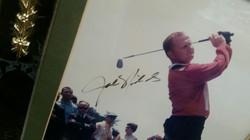 Jack Nicklaus (Golf Legend) Plague