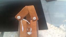 1 Carat Earrings