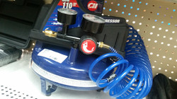 Pancake air compressor