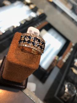 Handmade Sapphire Diamond 1