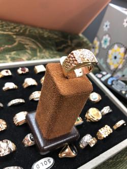 10 CTW diamond ring 3