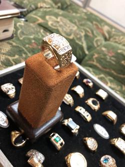 10 CTW diamond ring 2