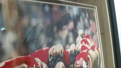 Signed & Framed Joe Montana