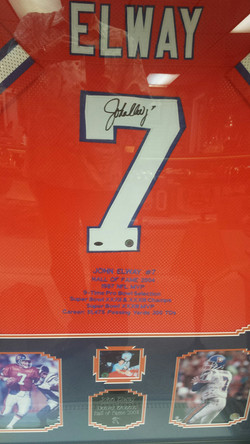John Elway Signed Jersey