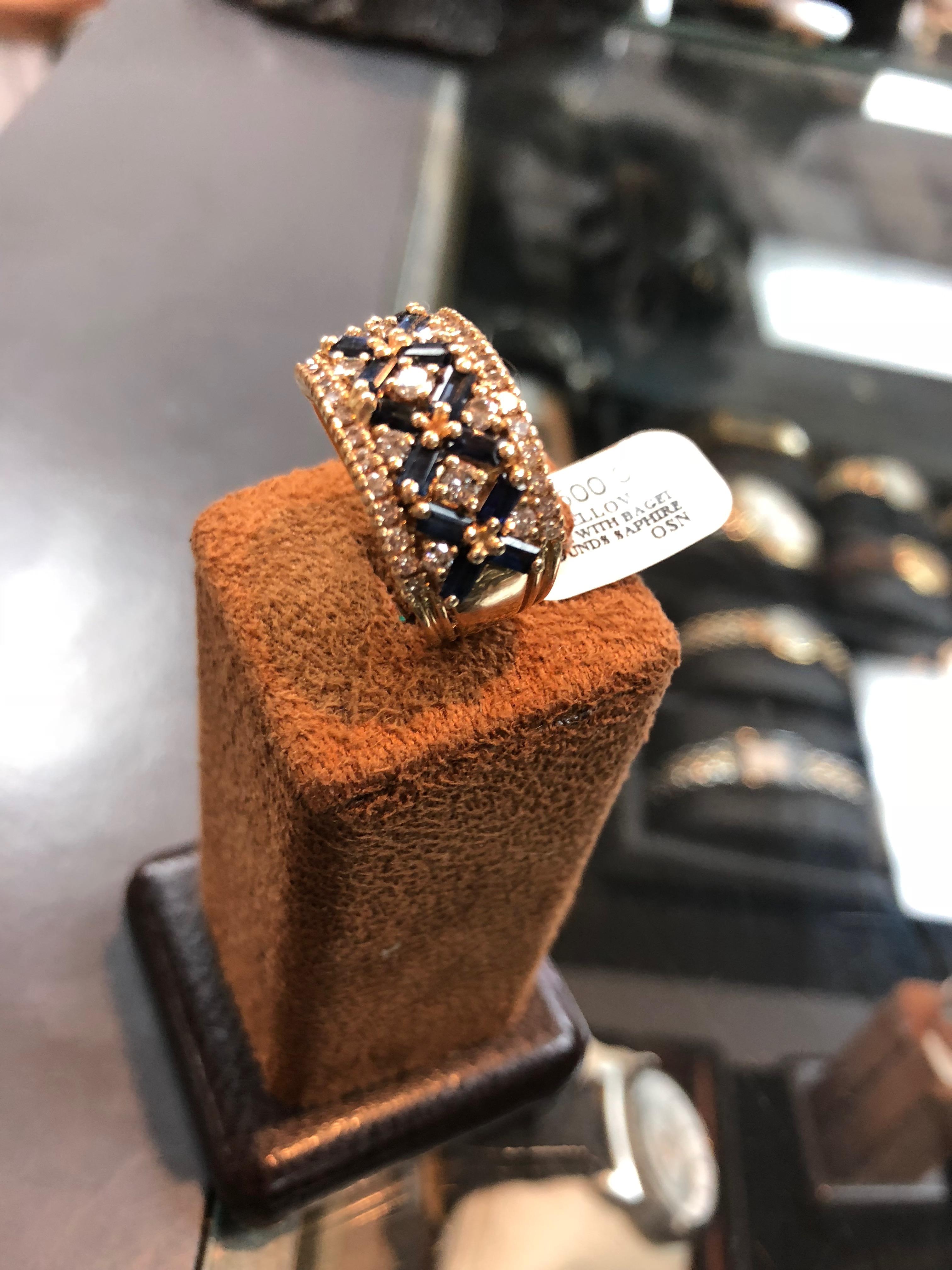 Handmade Sapphire Diamond3